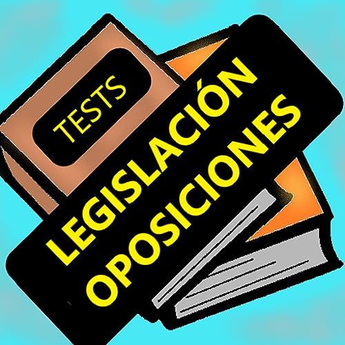 Test Legislación para oposiciones
