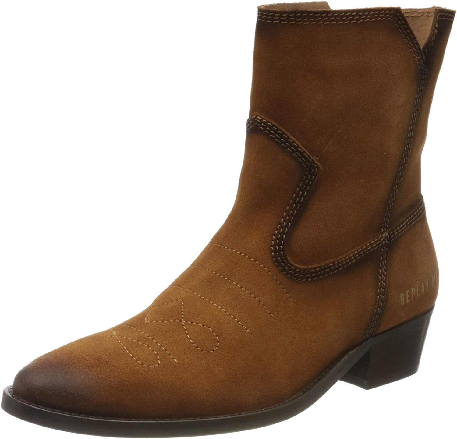 Replay Women's Safety and trust Boots Cowboy 35% OFF
