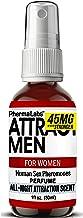 Human Sex Pheromones Attract men Perfume (All Night Scent) for Women Quality Pheromone 45mg
