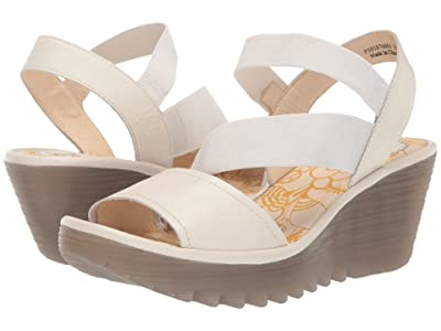 FLY LONDON YESA076FLY (Off-White/Mousse) Women