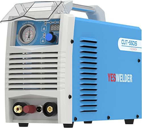 lowest YESWELDER CUT-55DS, 55 Amp High Frequency online Non-Touch Pilot Arc Digital Plasma online Cutter, DC Inverter 110/230V Dual Voltage Cutting Machine outlet online sale