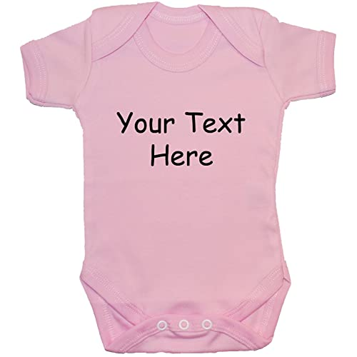 fb8c0fa8b Acce Products Bespoke Personalised Design Your Own Wording Baby Bodysuit/ Romper/Vest/T