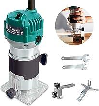 Darhoo Bovenfrees, 220 V 800 W 30000 R/min-frees, 1/4 inch elektrische handrouting frezen, houtfrees tool (blauw)