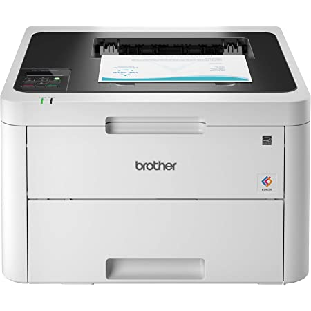 Brother HL-L3230CDW Compact Digital Color Printer Providing Laser Printer Quality Results with Wireless Printing and Duplex Printing, Amazon Dash Replenishment Ready