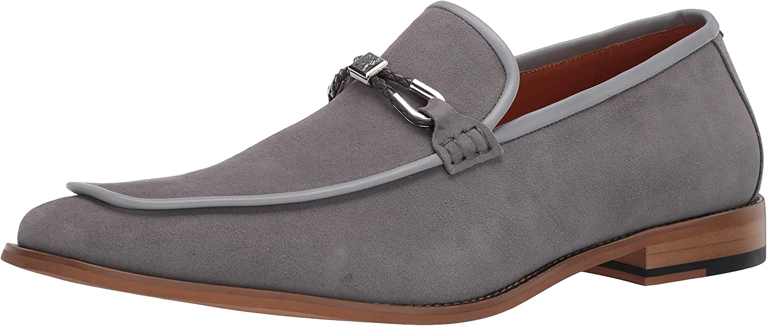 STACY ADAMS Fees Price reduction free Men's Colbin Loafer Slip-on Suede