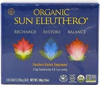 SUN CHLORELLA - Organic Sun Eleuthero (200mg, 1200 ct)