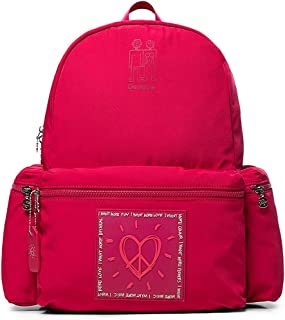 Luxury Fashion   Desigual Womens 19WAKA19RED Red Backpack   Fall Winter 19