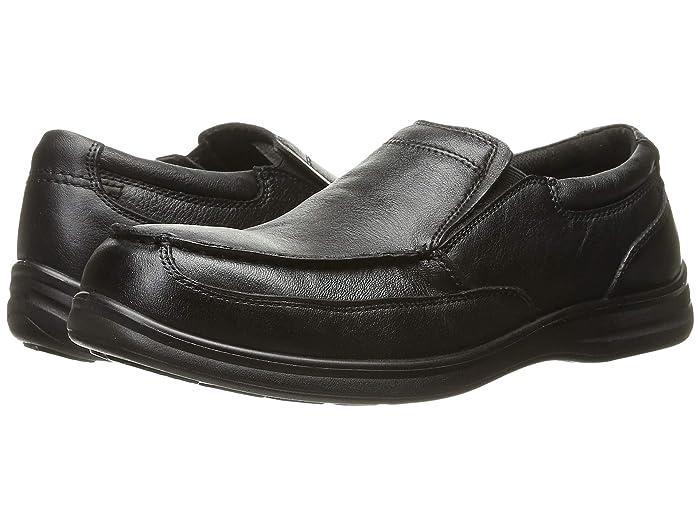 FRYE Men's Allen Tie Slip-on Loafer, Bla