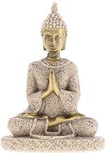 PPCP The Hue Sandstone Meditation Buddha Statue Sculpture Handmade Figurine Meditation Miniatures Ornament Statue