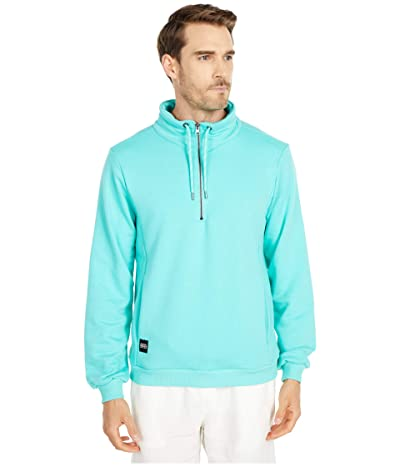 NATIVE YOUTH Monsanto 1/2 Zip Sweater (Turquoise) Men