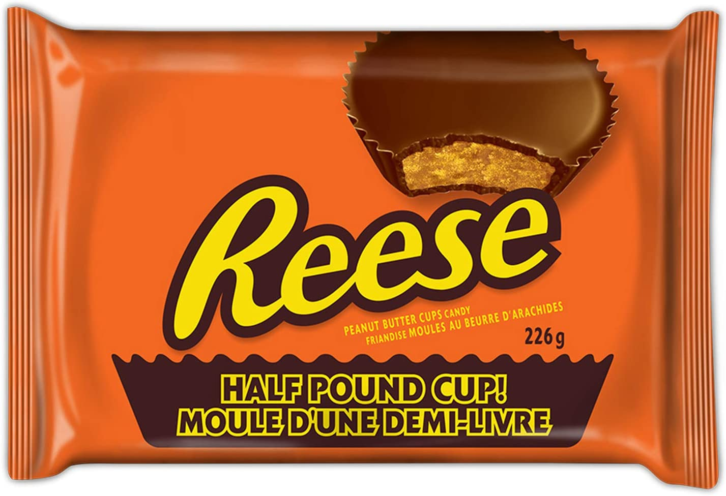 Reese Peanut Butter Cups Candy Easter Candy Half Pound Cup 226g Amazon Ca Grocery