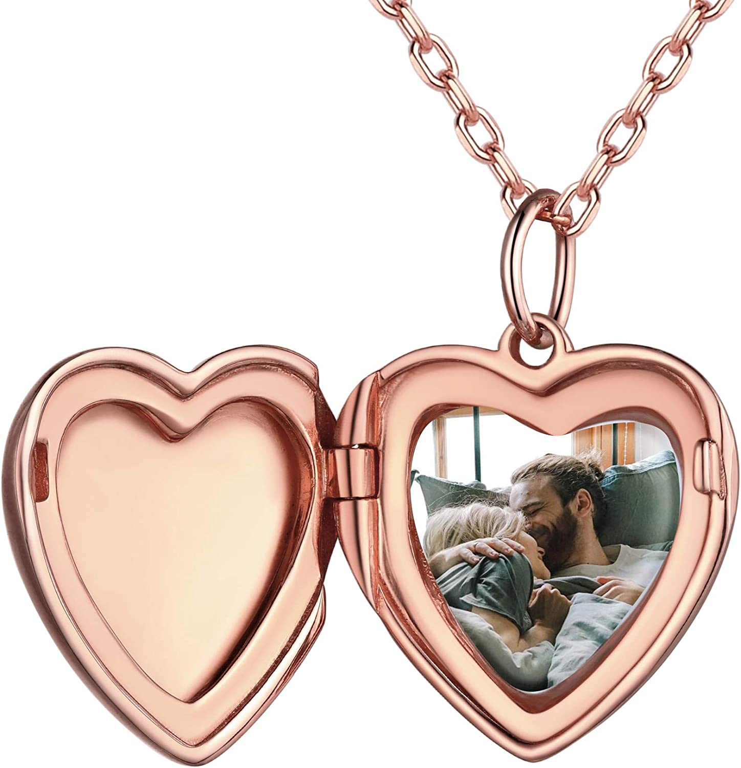 Ranking TOP20 PROSILVER 925 Sterling It is very popular Silver Heart in Silve Customized Necklace