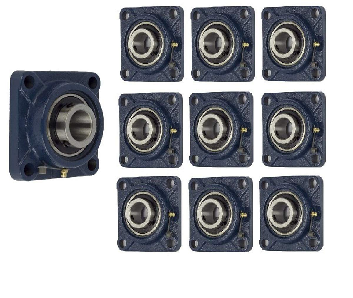 Jeremywell UCF204-12 Low price Pillow Block Flange Max 59% OFF Bearing 4 3 4