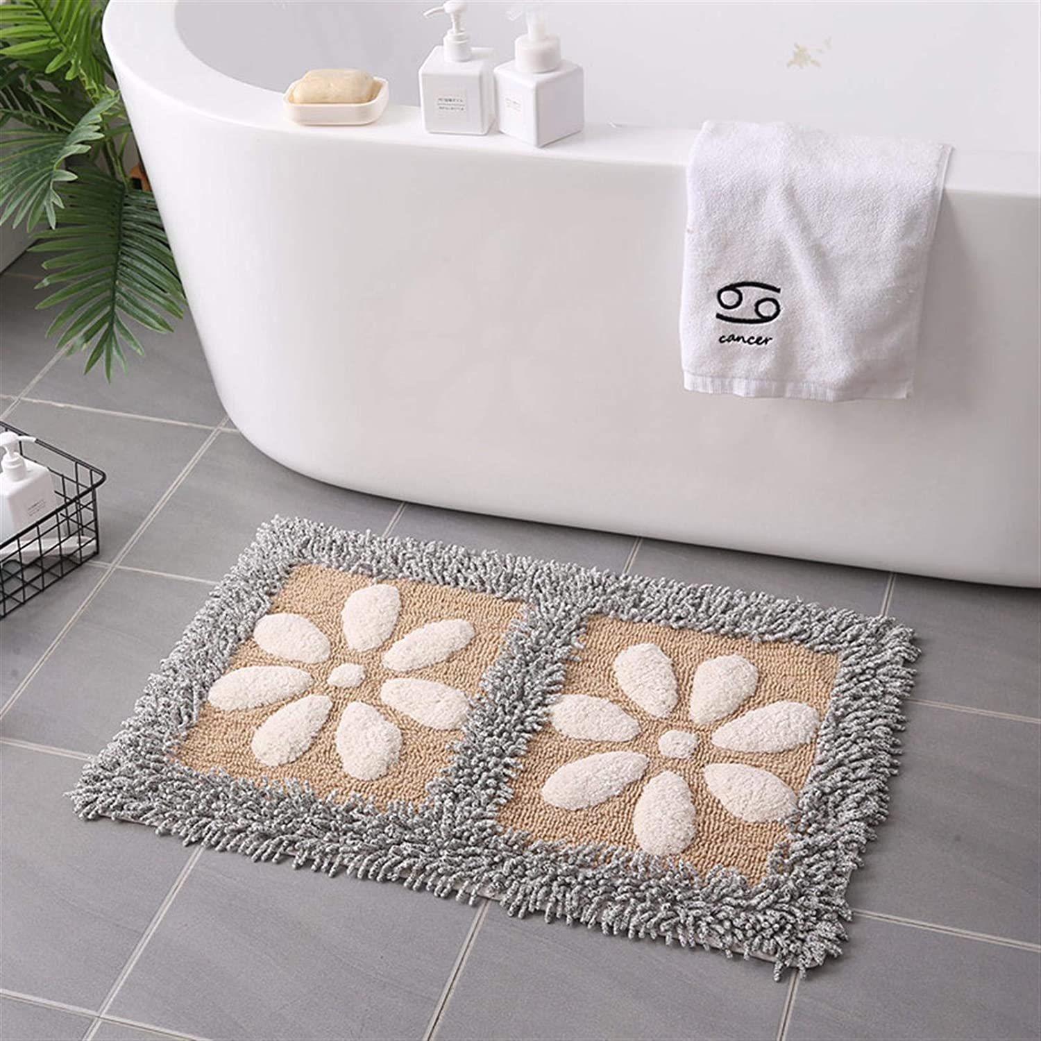 RP Cotton Bath Rugs Chenille Carpet Absorbent Mat In a popularity Bathroom Ultr Ranking TOP8