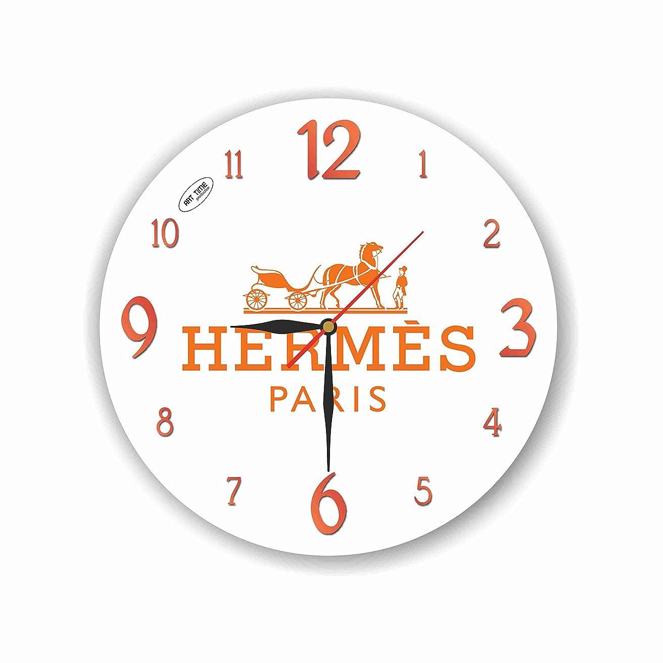 スイング仕事に行く子供達Hermes 11'' 壁時計 (エルメス) あなたの友人のための最高の贈り物。あなたの家のためのオリジナルデザイン
