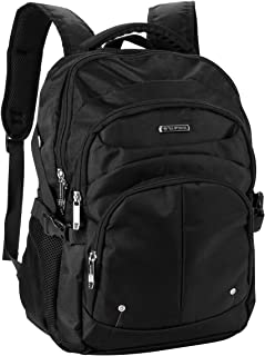 OUTON Laptop Backpack, Business Rucksack with USB Charging Port, Travel Casual Daypack, Water Resistant College School Computer Bag for Women Men Boy Girl, Fits 15.6 Inch Laptop and Notebook