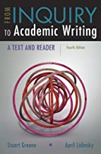 From Inquiry to Academic Writing: A Text and Reader PDF
