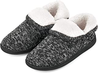 Women's Fuzzy Slippers Boots Memory Foam Booties House Shoes Indoor Outdoor