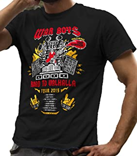Road to Valhalla Tour Mad Tee Shirt Men's