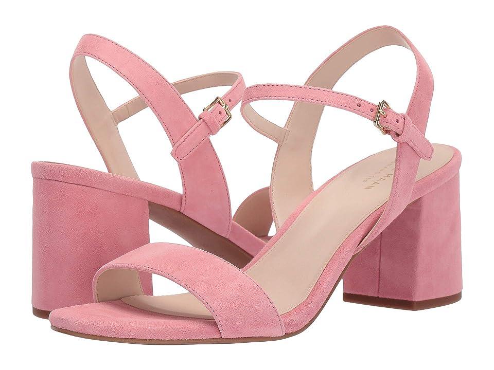 Cole Haan Josie Block Heel Sandal (Flamingo Pink) Women