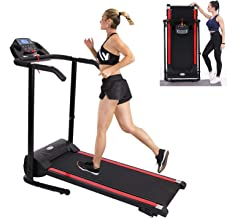 Treadmill,Treadmills for Home,Foldable Treadmill,1100W Folding Treadmill with Device Holder, Shock Absorption and Incline,...