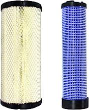 Disen parts 6666375 & 6666376 Engine Inner & Outer Air Filter Kit For Case Skid Steer Loader SR130 SR150 SR160 SR175 SV185...