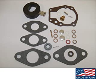 Carburetor Kit with Float for Johnson Evinrude 1.5 2 3 4 5 5.5 6 7.5 10 15 18 20 HP 439071 18-7043 Read Product Description for Exact Application/Fitment