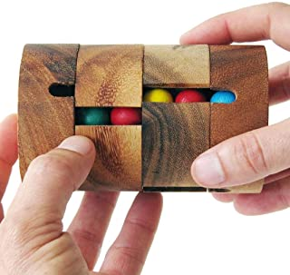 REVOLVE - Réussir à aligner une seule couleur par verticale - jeu casse tête à partir de 8 ans difficulté 2/6. En bois mas...