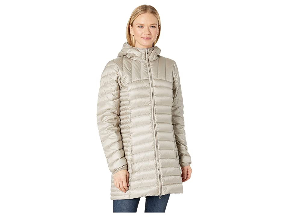 Eddie Bauer Astoria Hooded Down Parka (Light Taupe) Women