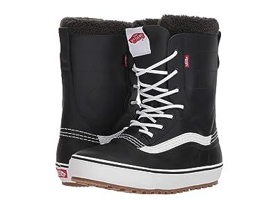 Vans Standardtm Snow Boot (Black/White) Men