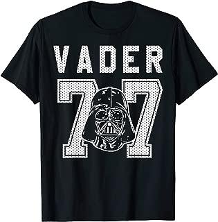Star Wars Vader Jersey 77  T-Shirt