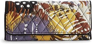 ヴェラブラッドリー三つ折り財布、マイクロファイバー