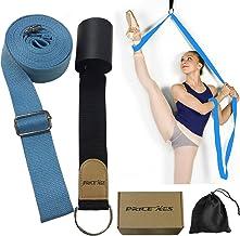 XEMZ - Banda elástica para piernas – Entrenador de flexibilidad de la puerta, mejora el estiramiento de piernas, perfecto equipo para el hogar para baile de ballet, ejercicio de taekwondo, correa de estiramiento de entrenamiento de gimnasia