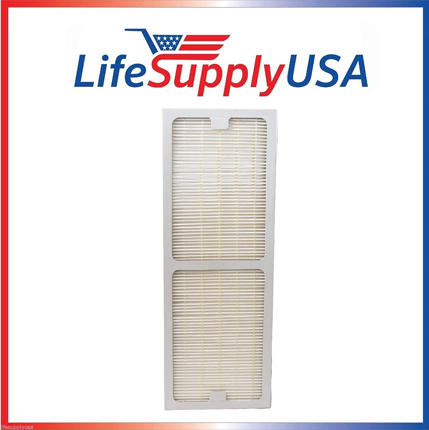 LifeSupplyUSA Replacement HEPA Filter fits Hunter Permalife 30967, 30757, 30755, 30756, 37755