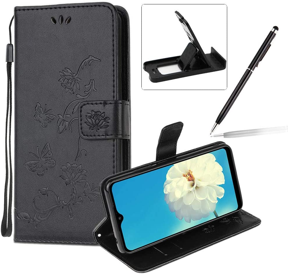 Strap Leather Case for Samsung Galaxy A70E Black New products Great interest world's highest quality popular Wallet