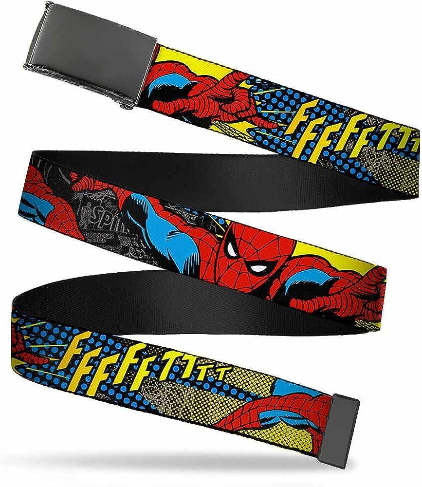 Washington Mall Buckle-Down Web Belt Spider-Man Limited price 1.25