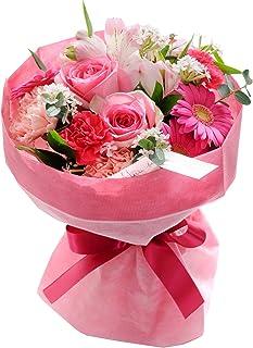 花由 そのままブーケ 花束 ピンク 日時指定便