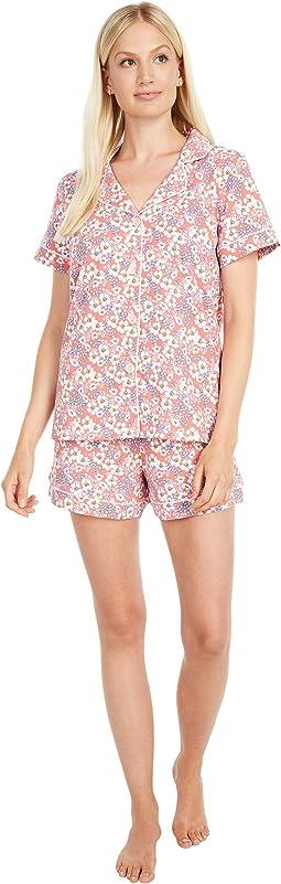 Short Sleeve Classic Shorty Pajama Set