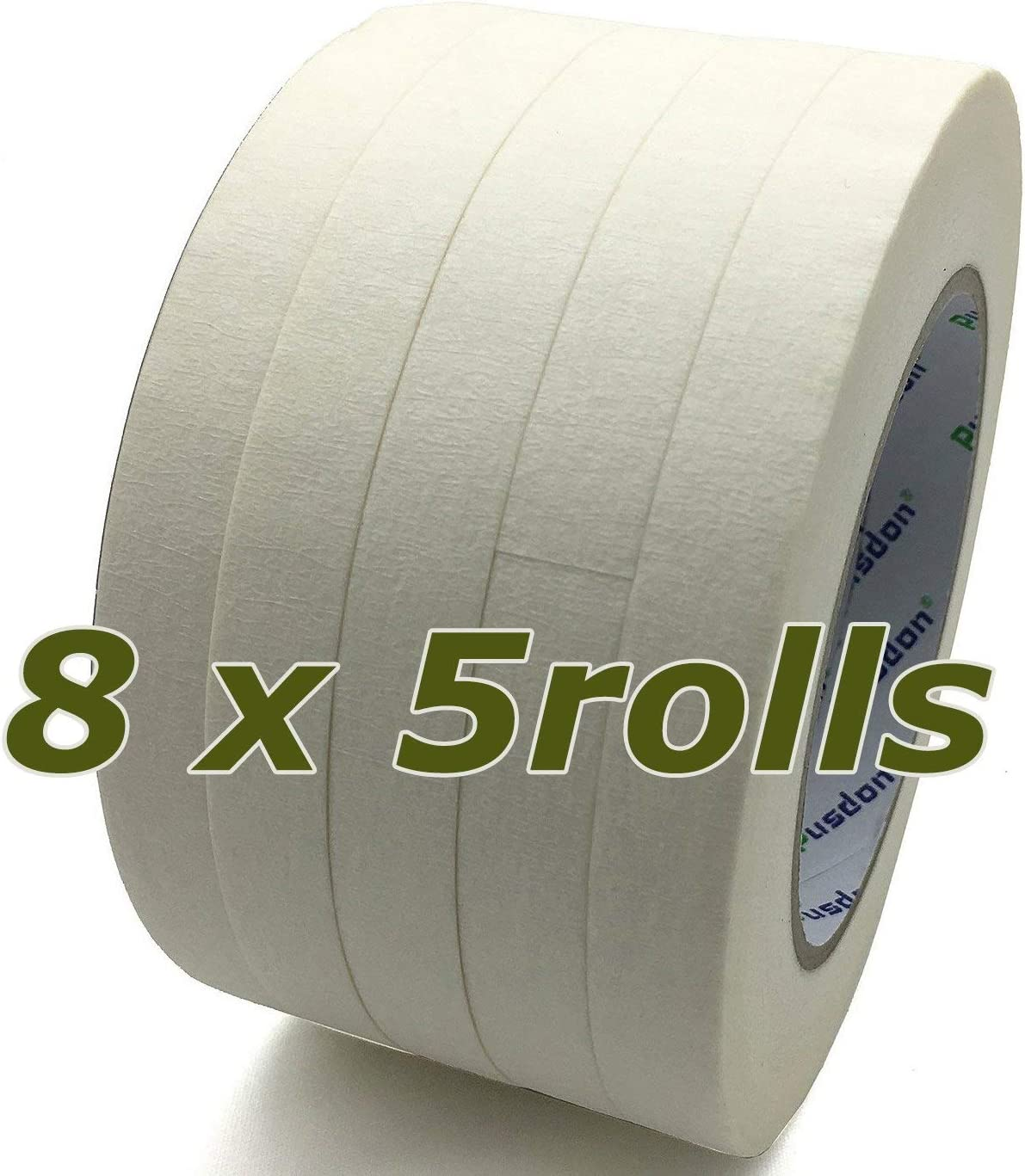 Pusdon Recommended White Masking Tape 40 Rolls 8 1 Pack x Each Roll 2-Inch Albuquerque Mall