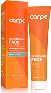 Sponsored Ad - Carpe Sweat Absorbing Face - Helps Keep Your Face, Forehead, and Scalp Dry - Sweat Absorbing Gelled Lotion ...