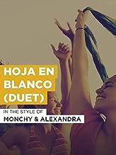 Hoja En Blanco (Duet)