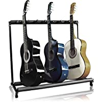 BCP 7-Guitar Instrument Folding Storage Stand