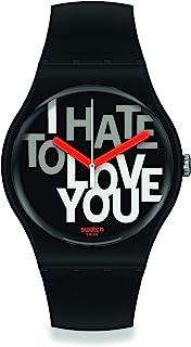 Orologio Swatch New Gent SUOB185 HATE 2 LOVE