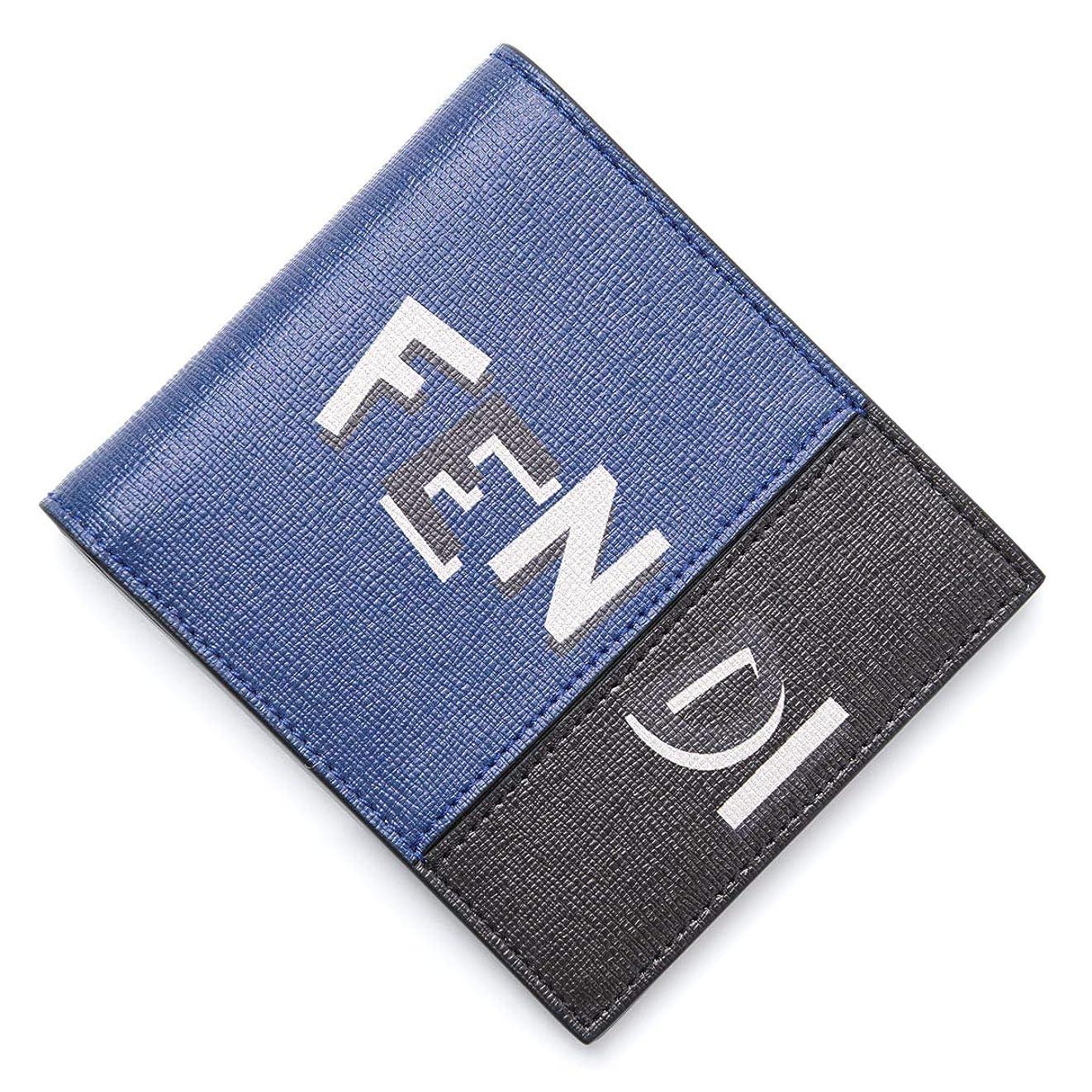 羽出撃者ネイティブ(フェンディ) FENDI 2つ折り財布 [並行輸入品]