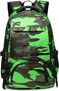 (Camouflage Green) - Kids School Backpacks for Girls Boys School Bags Bookbags for Children