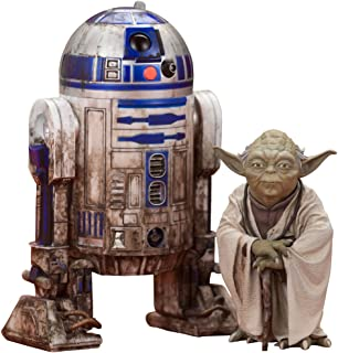 Star Wars Episode V ARTFX+ Statue 2-Pack Yoda & R2-D2 Dagobah Version 10 cm Kotobukiya