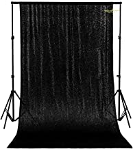 4FTx7FT,Ready to Dispatch,Black Sequin Backdrops,Sequin Photo Booth Backdrop,Sparkling Photography Prop