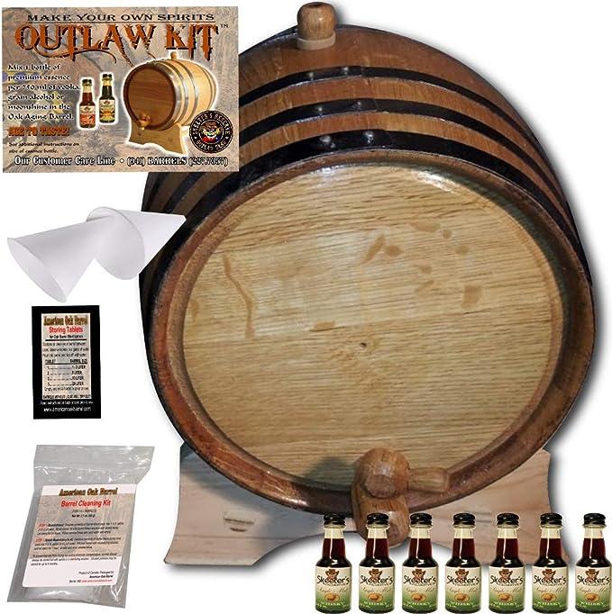 Barrel Aged Spirit Ageing KIT Charred Oak Staves For Drinks Mead Gin Vodka Rum