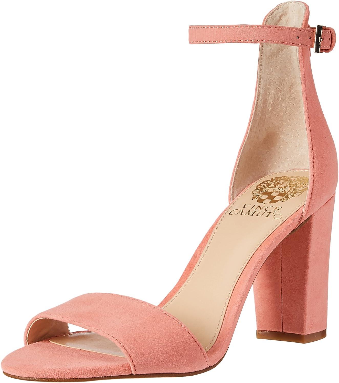 Vince Camuto Corlina True Suede Ankle Strap Sandals, Fancy Flamingo