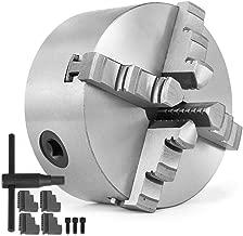 Mophorn 5 Inch 125 mm Lathe Chuck Self-centering for Lathe Machine 4 Jaw Lathe Chuck (12-125mm)